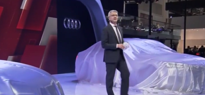 Audi TT RS Coupe, Roadster, A4 L, connected mobility concept Unveiling (1)