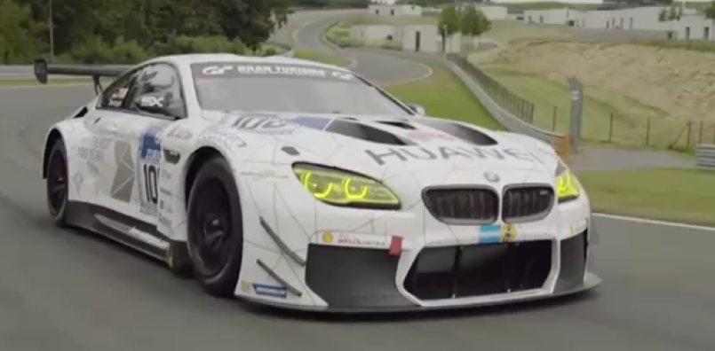 Bmw M6 Gt3 Track Run Exhaust Sound Interior Video Dpccars