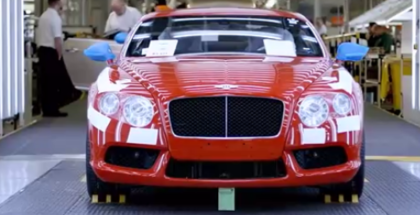 Bentley Continental GT Factory Assembly Plant (1)