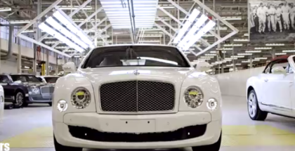 Bentley Mulsanne Factory Assembly Plant (1)