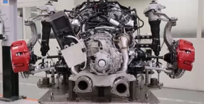 Bentley W12 Engine Factory Assembly Plant (1)