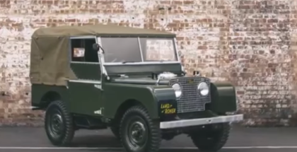 Classic Land Rover Series 1 Restoration (1)