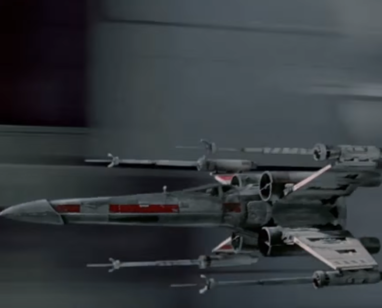 Hot Wheels Star Wars X Wing Fighter Carship Video Dpccars