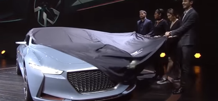 Hyundai Genesis New York Concept Unveiling Video Dpccars
