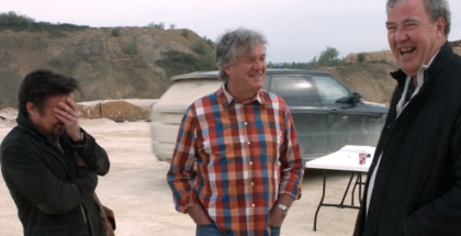 Jeremy Clarkson, Richard Hammond, and James May - Gentle Rentals with Range Rover (1)
