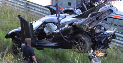 Koenigsegg One1 crash at Nürburgring (1)
