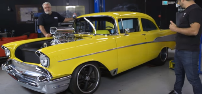 Motor Trend 1957 Chevy Project X Suspension Video