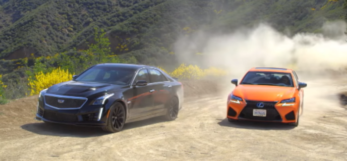 Motor Trend – 2016 Cadillac CTS-V vs 2016 Lexus GS F – Video