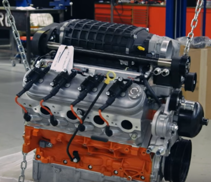 Camaro Gets A 427ci Supercharged LS Swap