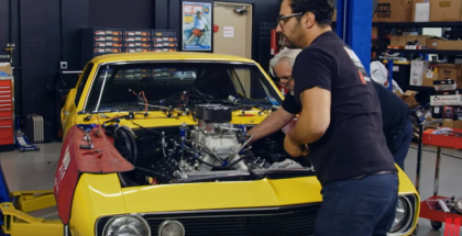 Motor Trend - Camaro Gets a 427ci Supercharged LS Swap (2)