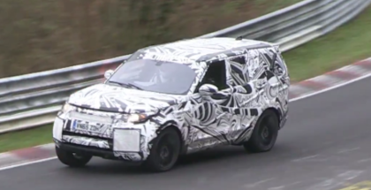 New Land Rover Discovery Lapping The Nurburgring (1)