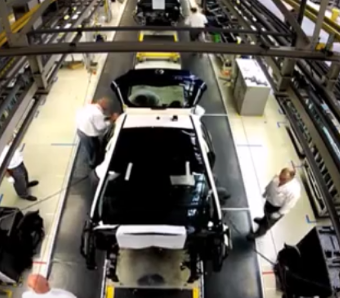 Opel Adam Factory Assembly Plant – Video