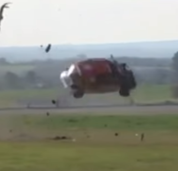 Renault Clio Race Car Flips 11 Times – Video