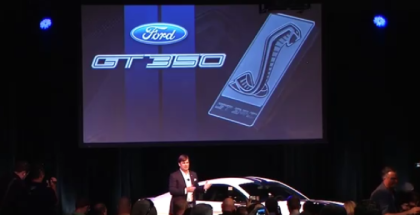 Shelby GT350 and GT350R Mustang Unveiling (1)