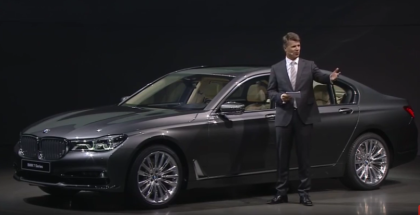 Sixth Generation BMW 7 Series G11 Unveiling (1)