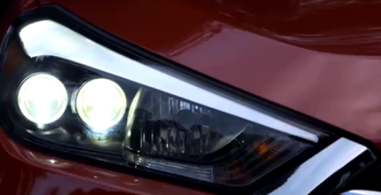 Small SUV headlight test with poor results (1)