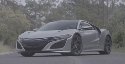 Source Silver 2017 Acura NSX