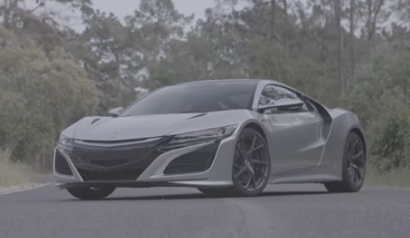 Source Silver 2017 Acura NSX – Video   DPCcars