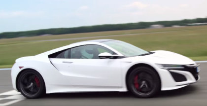 Top Gear - Stig drives the Honda NSX (1)