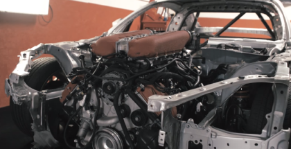 Toyota GT86 with Ferrari engine swap (1)