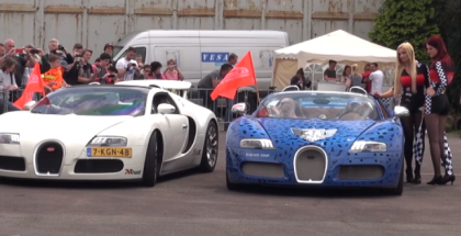 Two Bugatti Veyron 16.4 Grand Sport's drag race (1)
