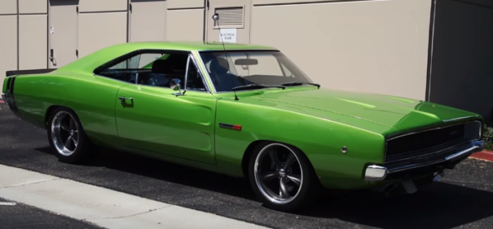 1968 Dodge Charger with Viper V10 engine swap – Video