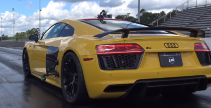 2nd generation UGR Audi R8 Twin Turbo runs 9s in the quarter mile (1)