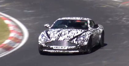 Aston Martin DB11 Testing With AMG BiTurbo Engine (1)