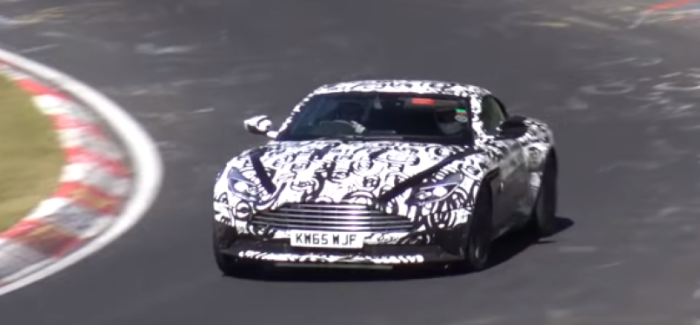 Aston Martin DB11 Testing With AMG BiTurbo Engine – Video