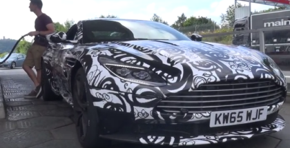 Aston Martin DB11 with AMG Twin Turbo engine spied (1)