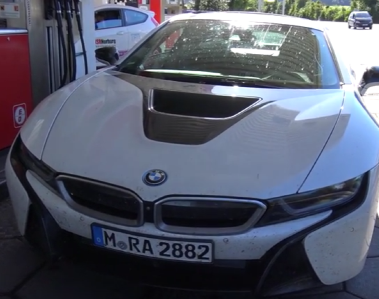 Bmw I8 Convertible Spied Video Dpccars