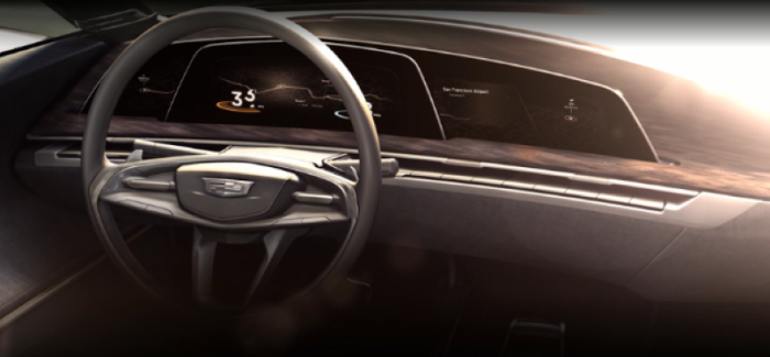 Cadillac New Interior Design Concept Teaser – Video