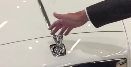 Can You Steal The Rolls-Royce Spirit of Ecstasy Emblem (1)