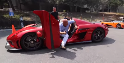 Christian von Koenigsegg Drives in the 1,500 HP Regera (1)