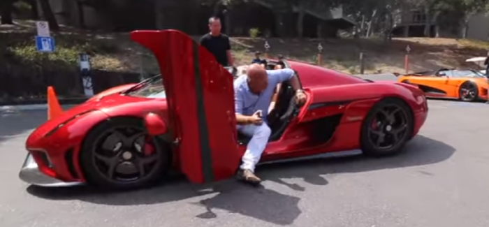 Christian von Koenigsegg Drives in the 1,500 HP Regera – Video