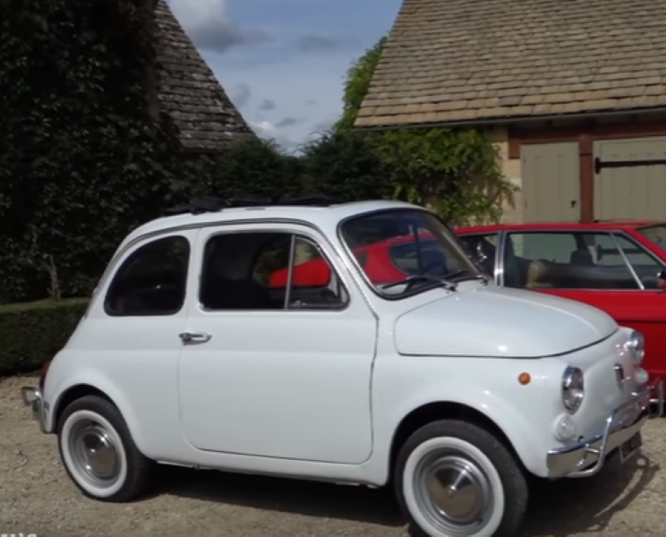 classic fiat 500 review video dpccars. Black Bedroom Furniture Sets. Home Design Ideas