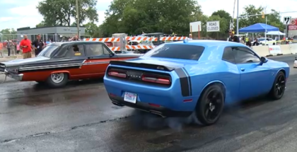 Dodge Challenger, Charger, Viper Drag Racing and Drifting (1)