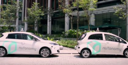 First Self Driving Singapore Taxi In Action (1)
