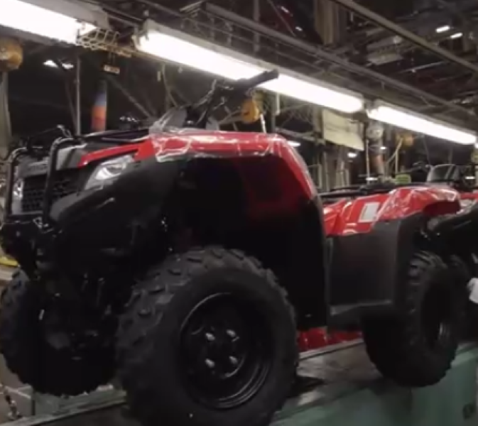 Honda ATV South Carolina Assembly Factory Plant (2)