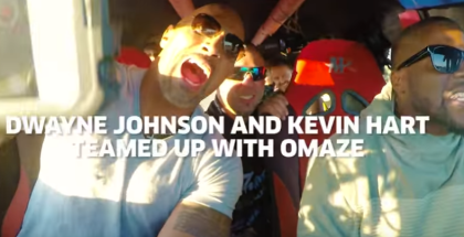 Kevin Hart and Dwayne Johnson Crush Things in a Monster Truck (1)