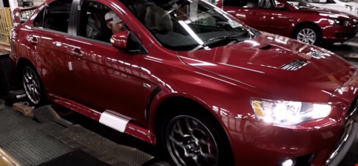 Mitsubishi Lancer Evolution Final Edition Factory Assembly Plant – Video