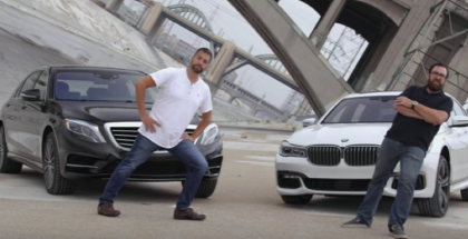 Motor Trend - 2016 BMW 750i vs 2015 Mercedes-Benz S550 (1)