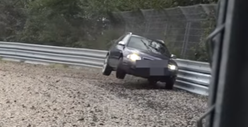 Not Even The Audi Awd Systenm Could Save This A4 Avant