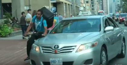 Taxi Driver vs Delivery Cyclist (1)