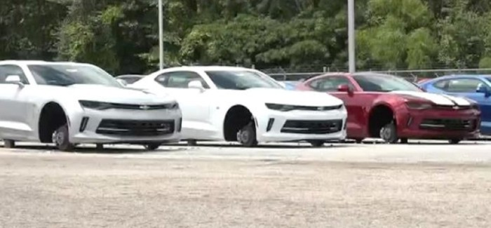 Thieves Steal 250k Worth Of Wheels From Chevrolet Dealer