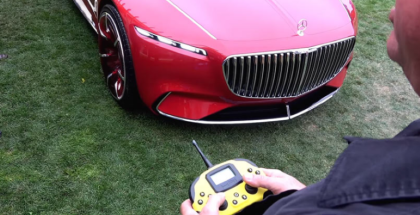 Vision Mercedes Maybach 6 is a giant RC car