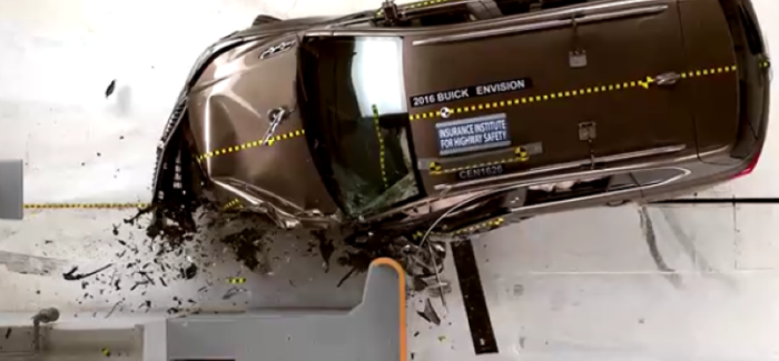 2016 Buick Envision Crash Test – Video