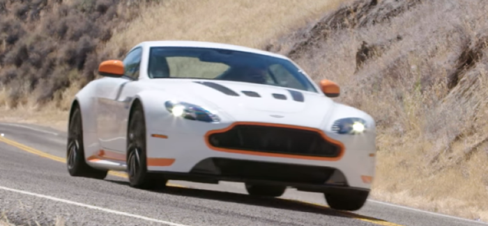 2017 Aston Martin V12 Vantage S Motor Trend Hot Lap – Video
