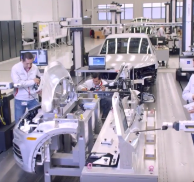 2017 Audi Q5 Assembly Factory Plant – Video