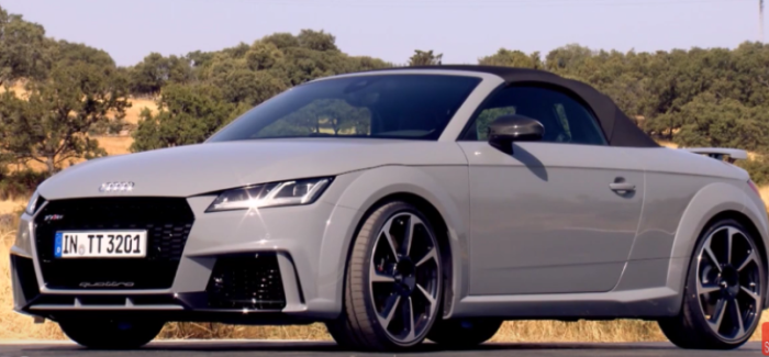 2017 Audi Ttrs Roadster Test Drive And Interior Video Dpccars
